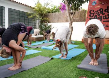Yoga at Lisbon SurfCamp