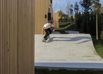 Skaten im Surf House