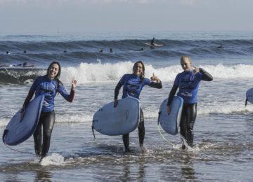 Surfkurs Gruppe Sopela