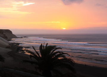 Sunset in Chicama