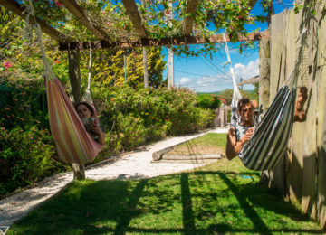 Guests in hammock