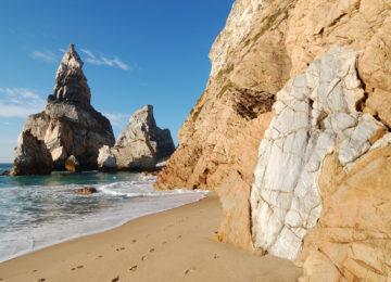 Coast in Sintra Cascais National Park