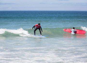 Surfing course Lisbon