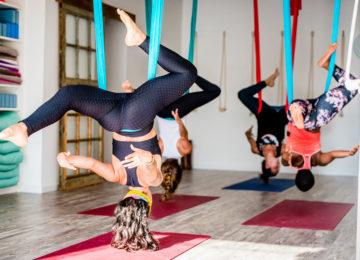 Air Yoga Session
