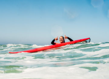 Stoked Surfer