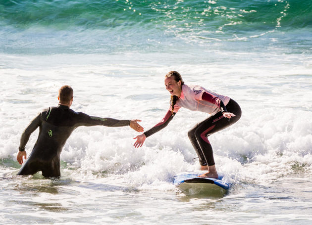 High Five Surf Course