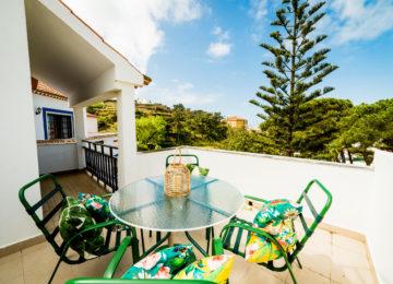 Balcony at Ericeira Surfcamp