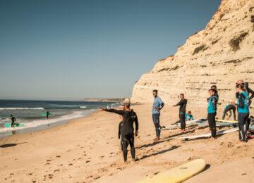 Intermediate Surfkurs Algarve