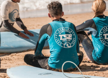 Surftheorie am Beach